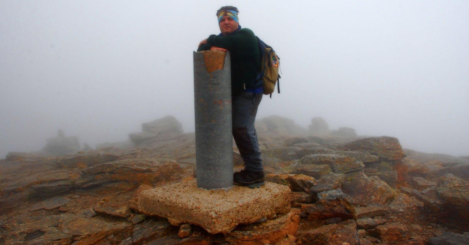Cumbre del Pico Peñalara. Parque Nacional de la Sierra de Guadarrama.