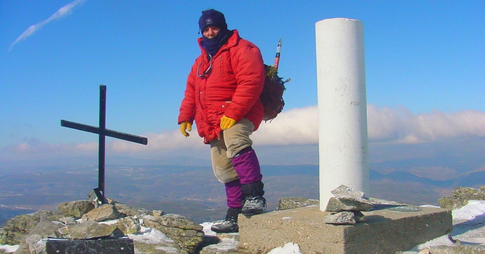 Cumbre del Pico Torozo. Gredos, Ávila. Castilla y León.
