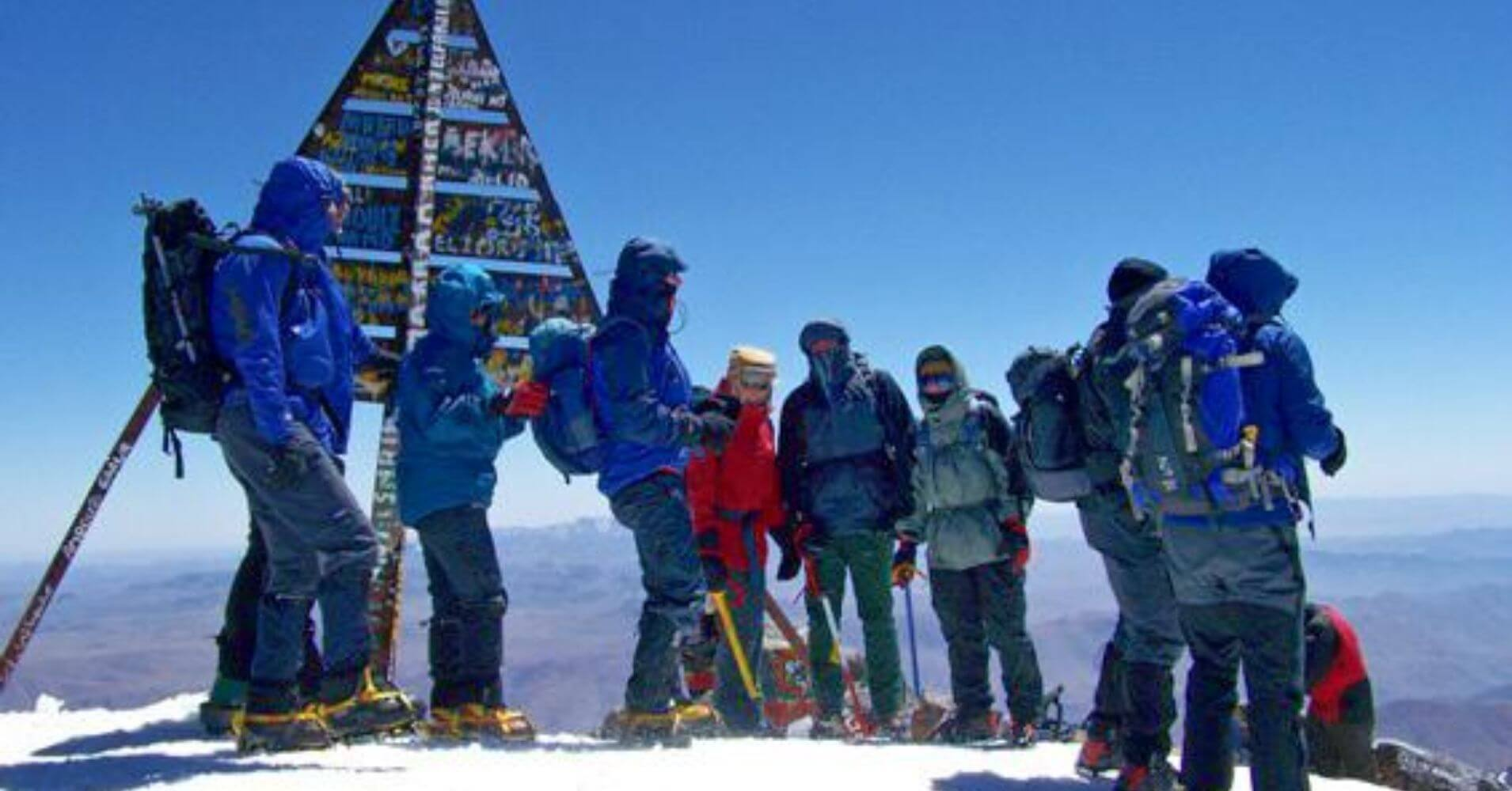 Cumbre del Toubkal, Marruecos.