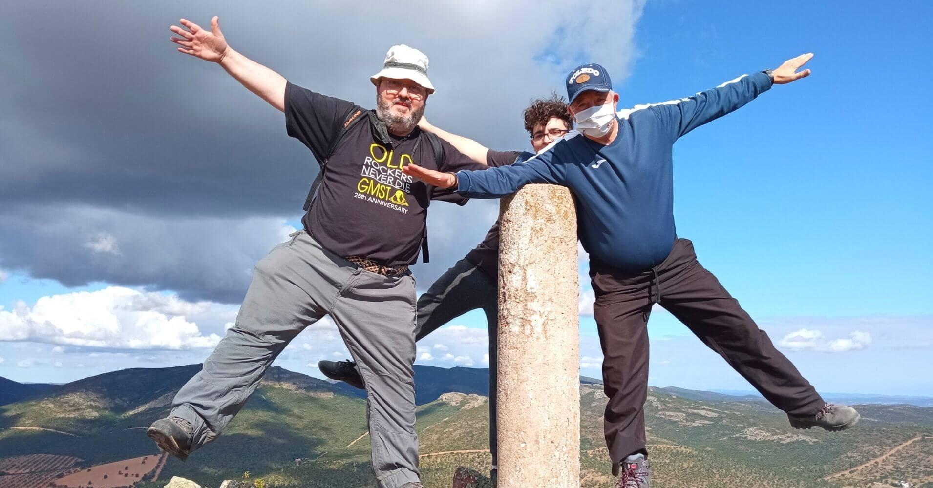 Cumbre Pico Mingoliva. Montes de Toledo. Sierra de Madridejos, Toledo. Castilla La Mancha.