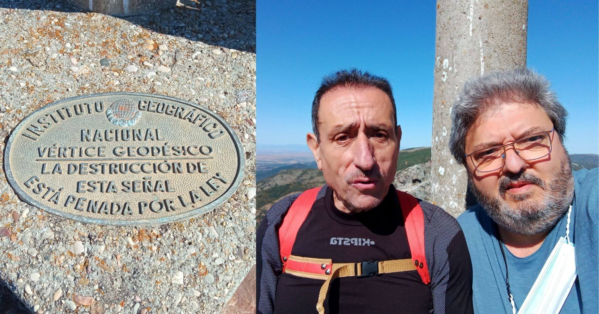 Cumbre y Vértice Geodésico del Cerro Vicente 1430m. Montes de Toledo. Las Navillas. Menasalbas, Castilla la Mancha.