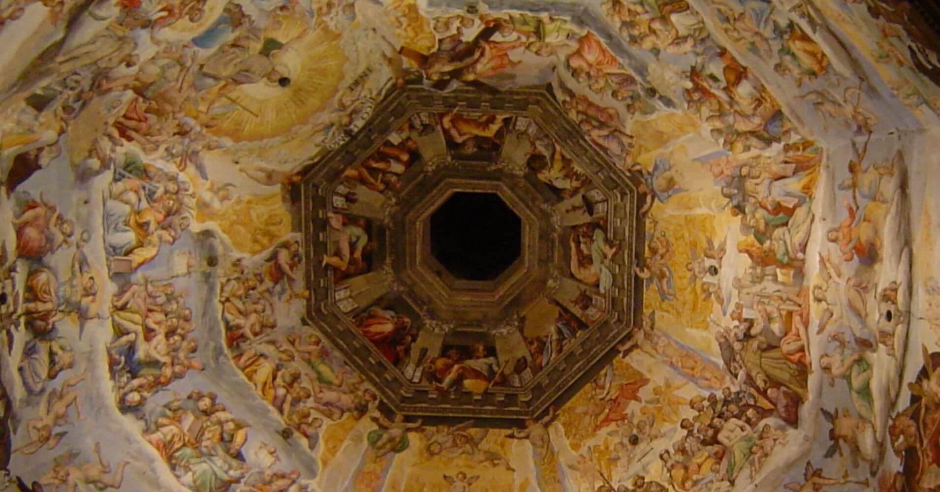 Cúpula de Brunelleschi. Duomo de Florencia. Toscana, Italia.