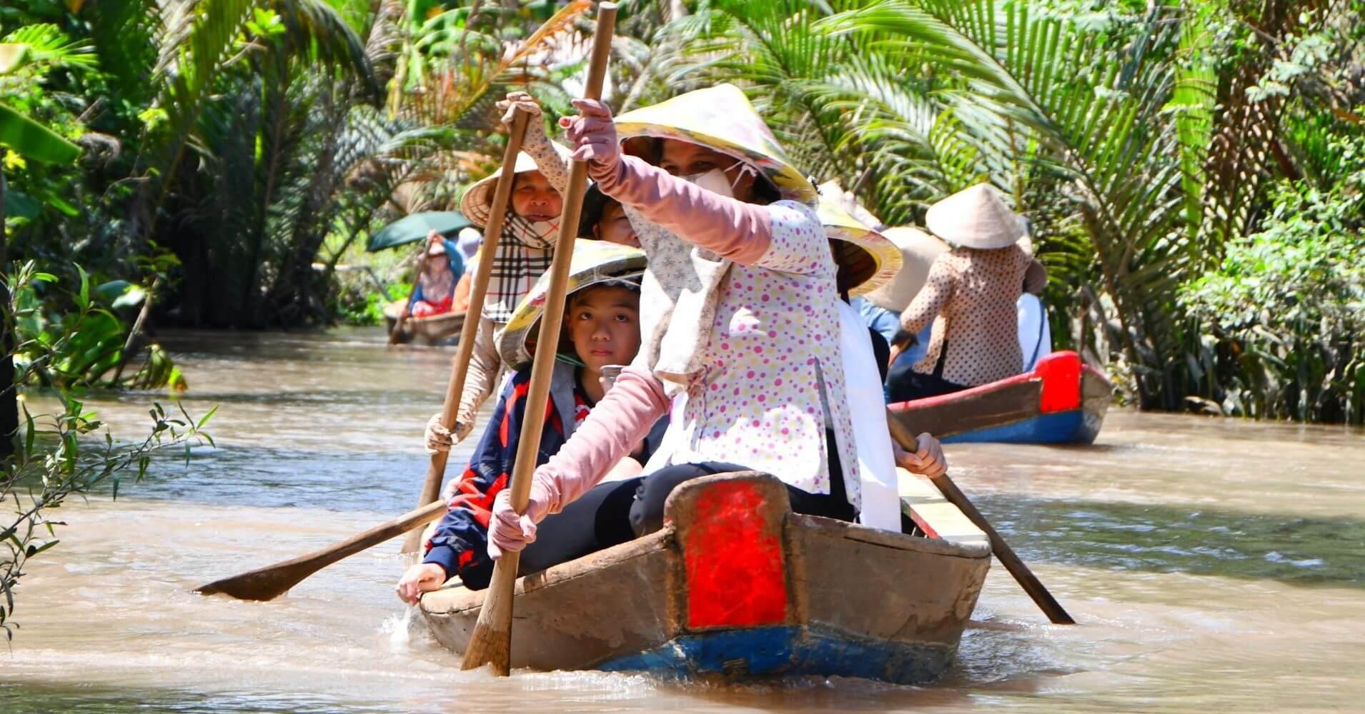 Delta del Mekong. Ho Chi Ming. Vietnam de Norte a Sur.