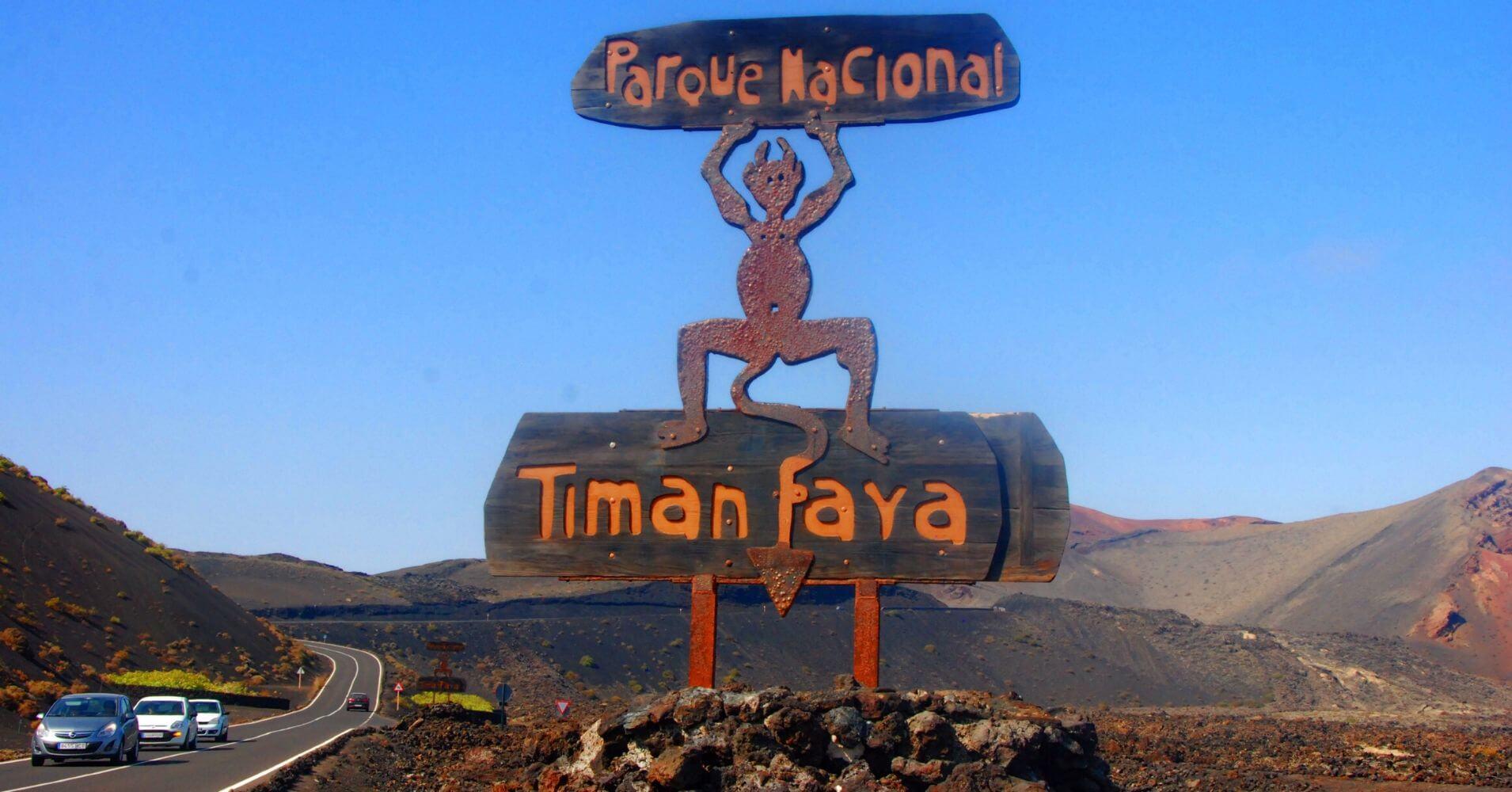 Demonio del Parque Nacional de Timanfaya. Lanzarote.