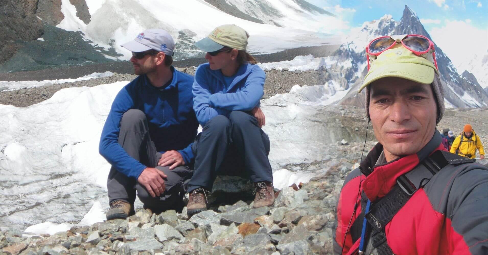 Descanso en el Trekking del Campo Base del K2, Pakistán.