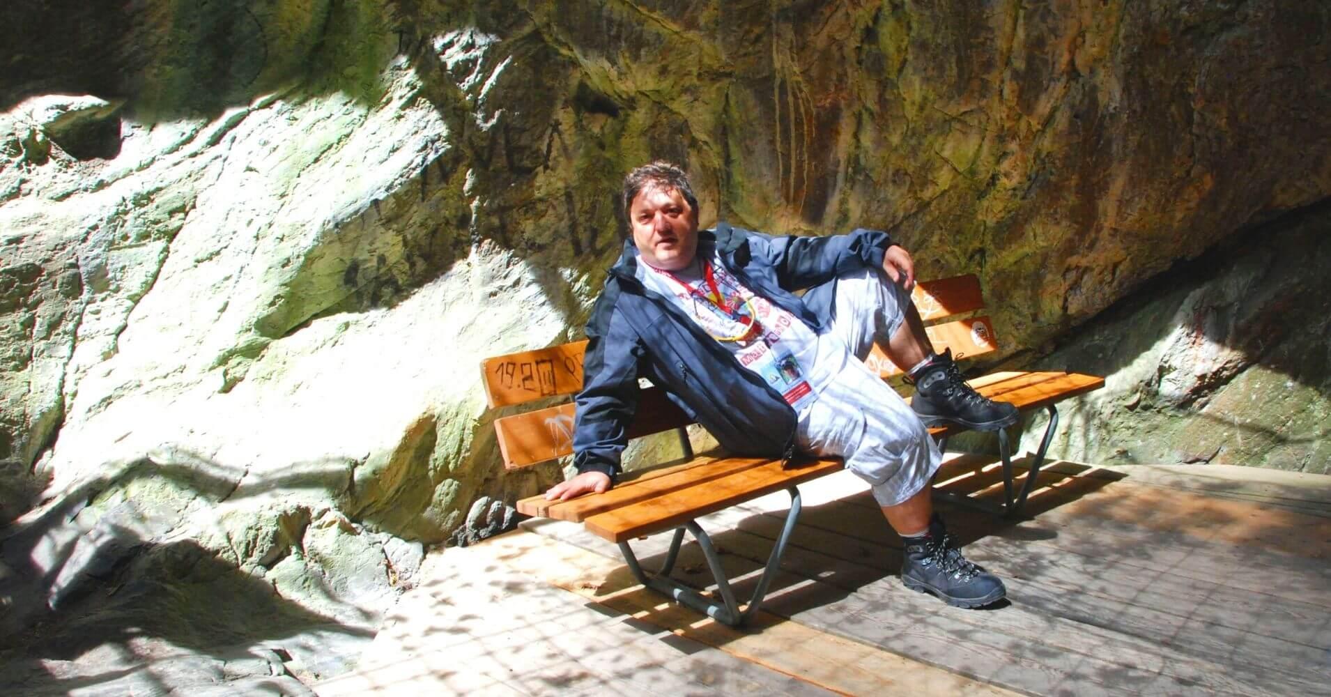 Descanso en les Gorges du Trient. Valais, Suiza.