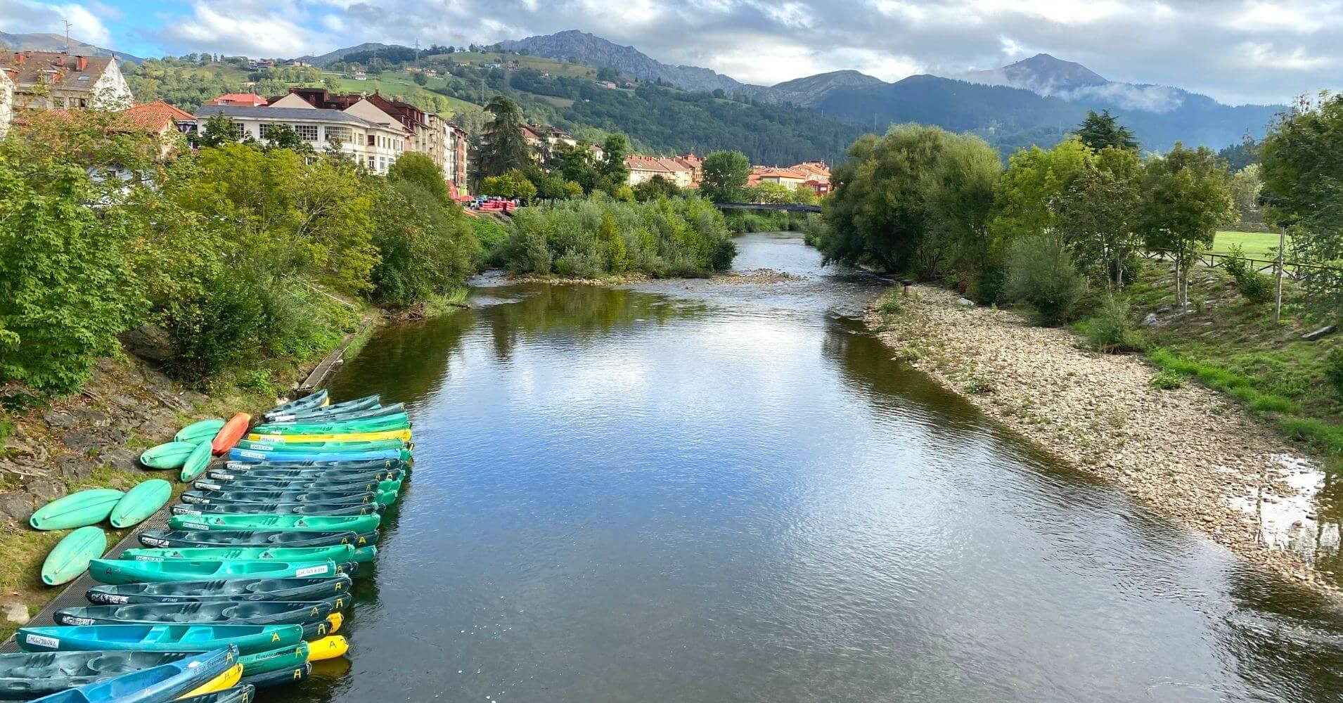Descenso del Sella. Arriondas, Principado de Asturias.