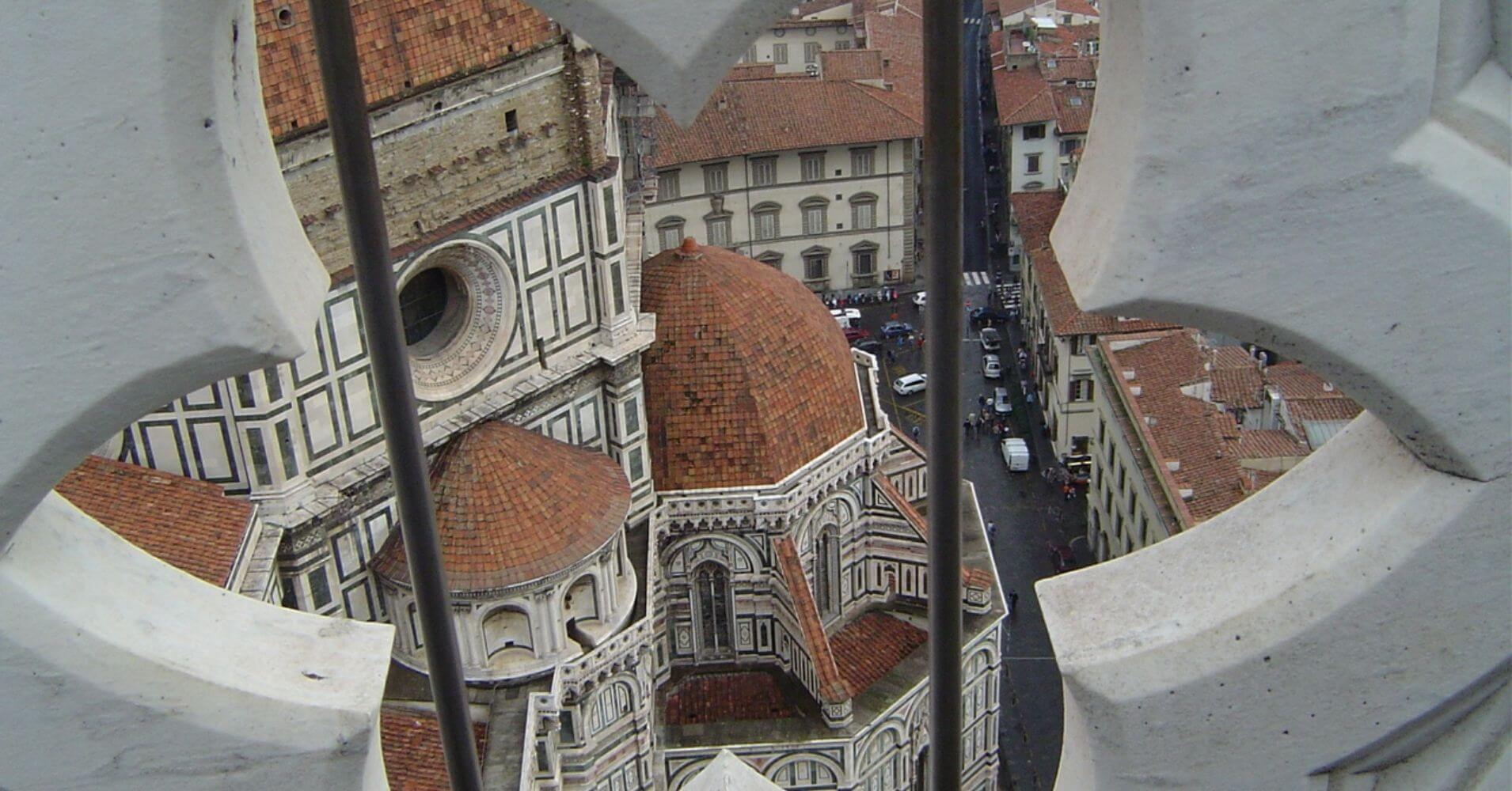 Detalle del Campanille. Florencia, Toscana. Italia.