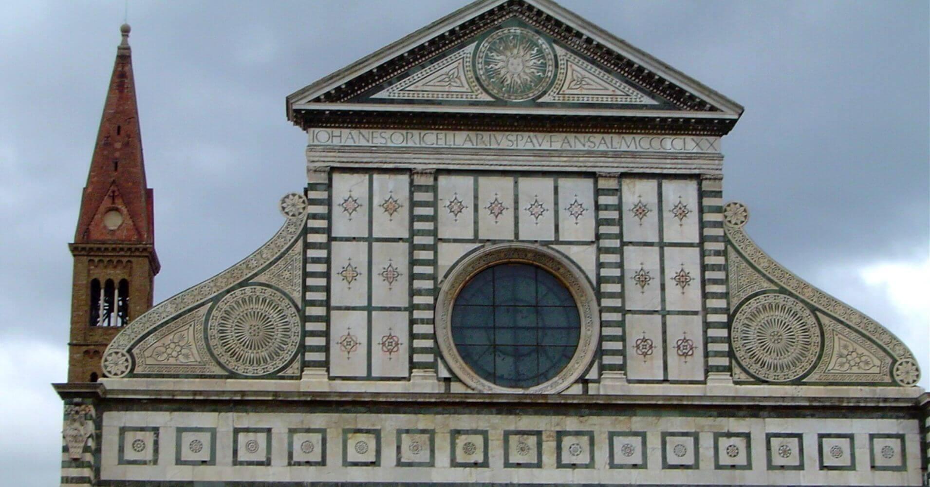 Detalle Santa María de Novella. Cinco días en Florencia. Toscana, Italia.