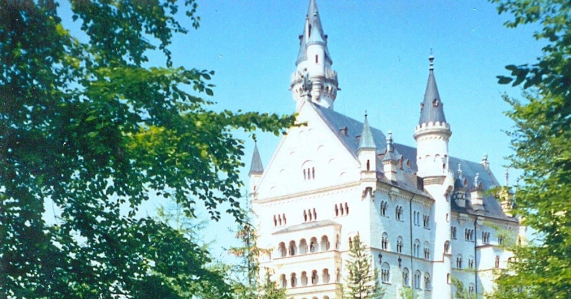 Detalles del Castillo de Neuschwanstein. Baviera, Alemania.