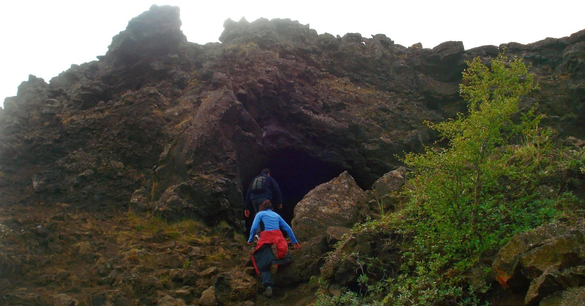 Dimmuborgir, Castillos Negros. Lago Mývatn. Norte de Islandia.