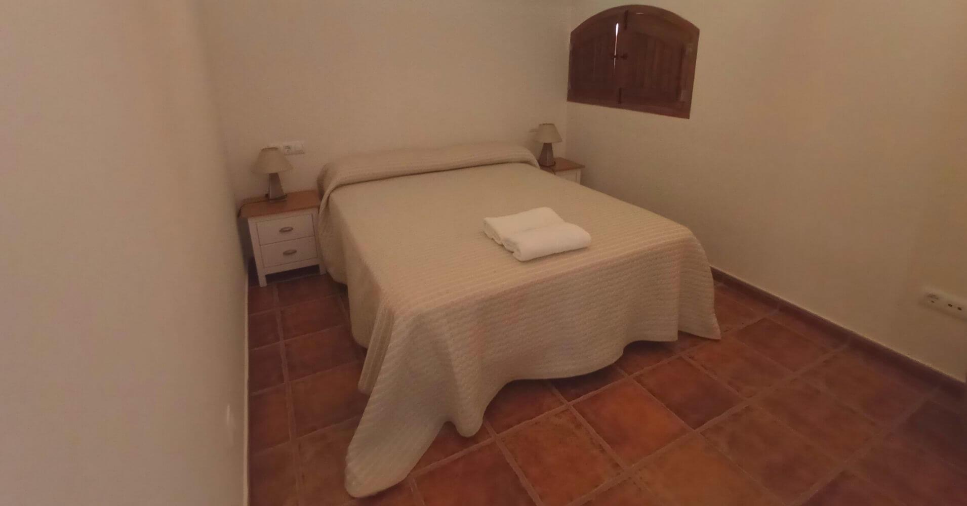 Dormitorio Alojamiento Rural. Madridejos, Toledo. Castilla La Mancha.