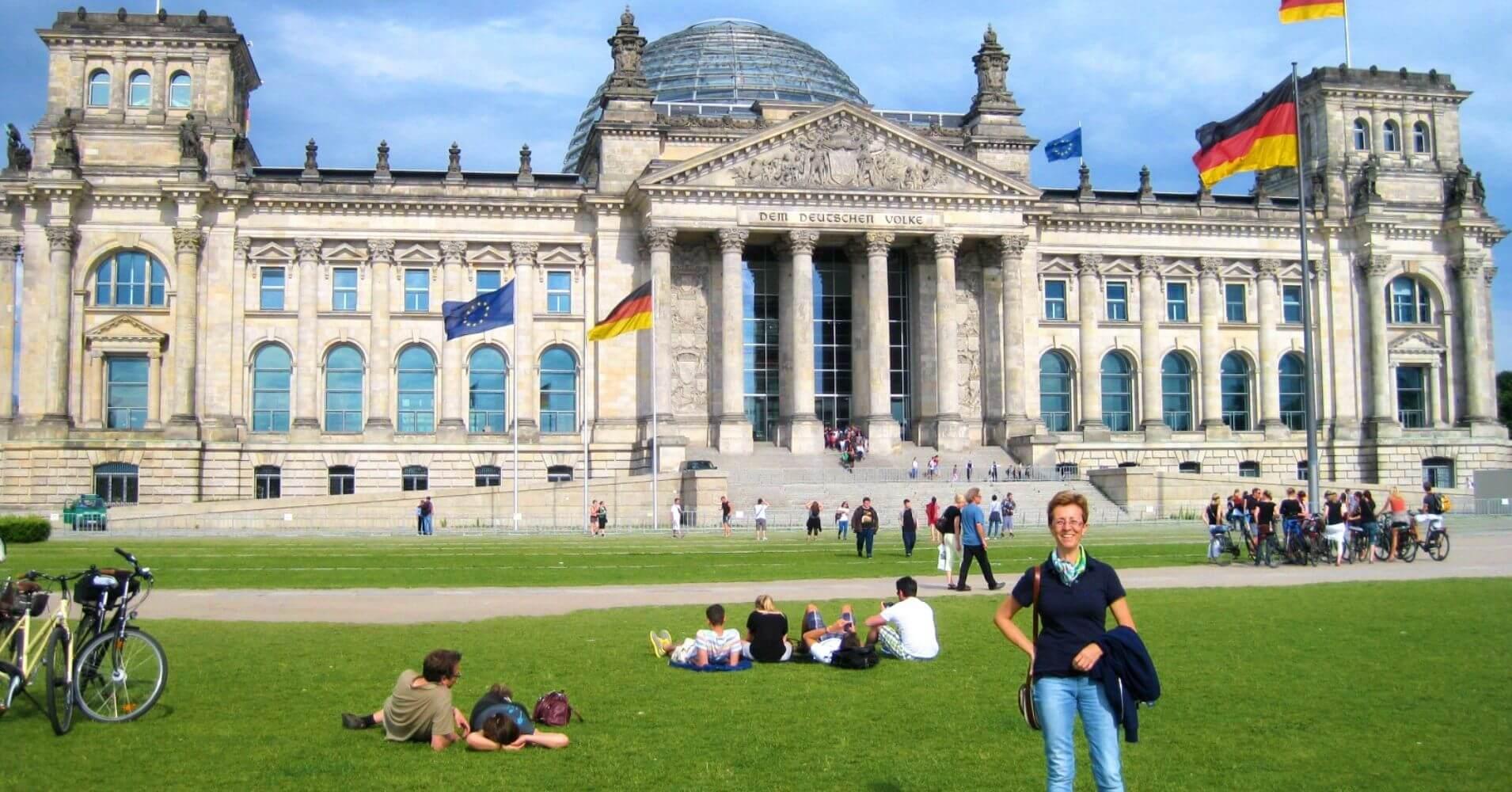 Edificio del Parlamento. Reichstag. Capital de Alemania.