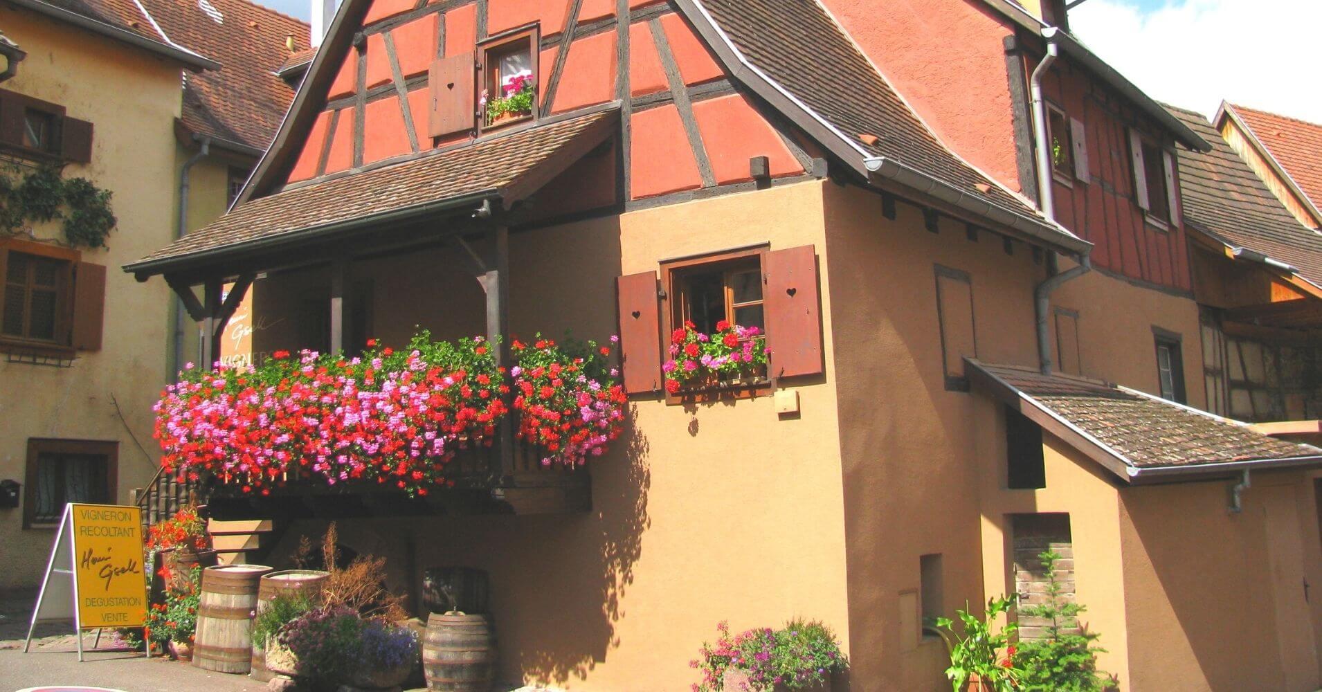 Alsacia. Departamento Alto Rin. Gran Este. Francia.