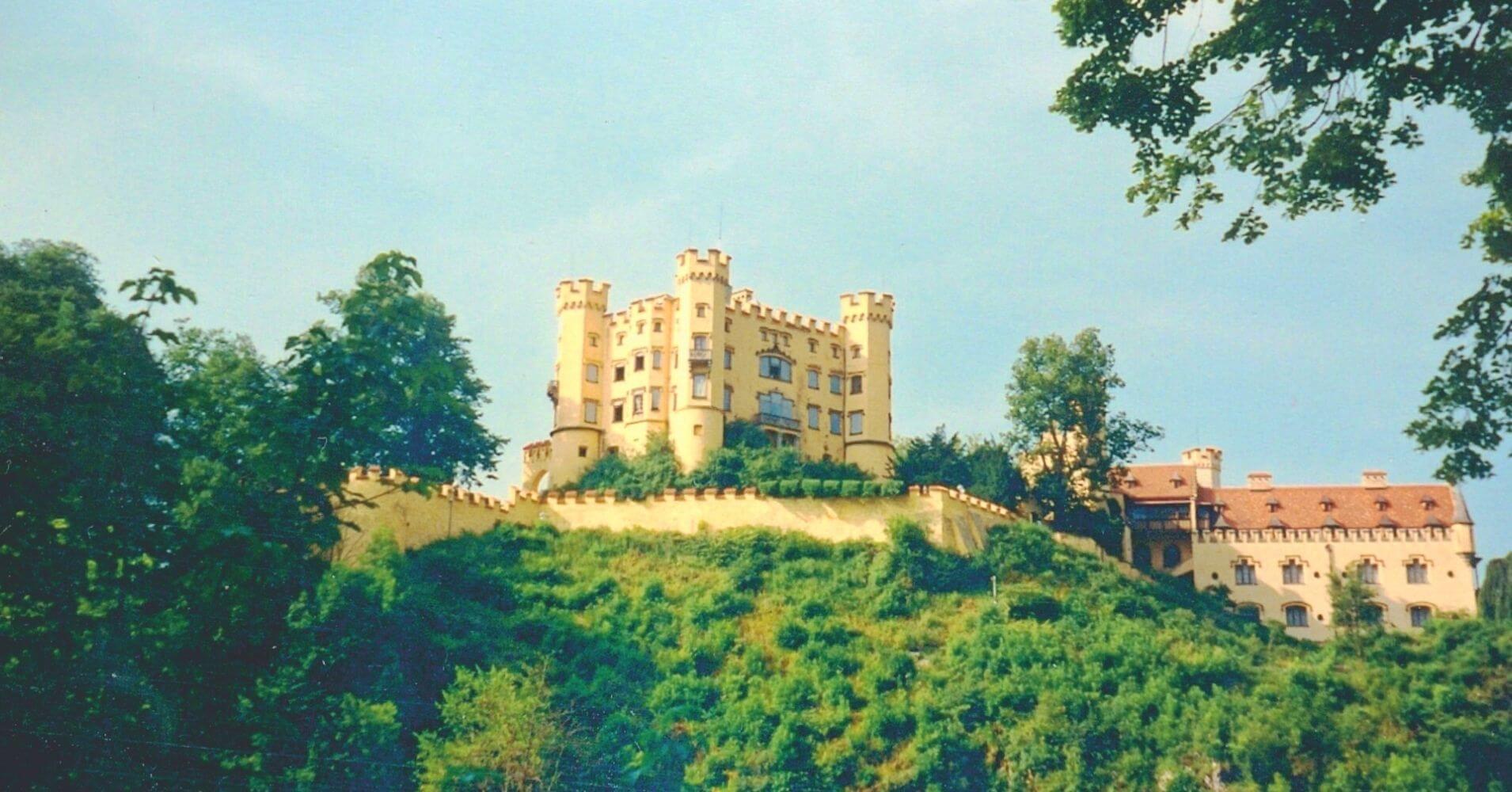 El Castillo de Hohenschwangau. Baviera, Alemania.