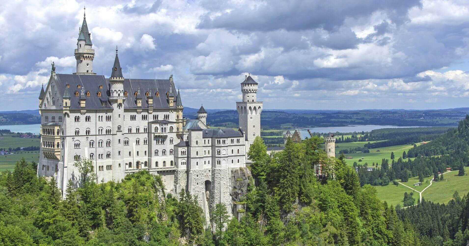 El Castillo de Neuschwanstein. Baviera, Alemania.