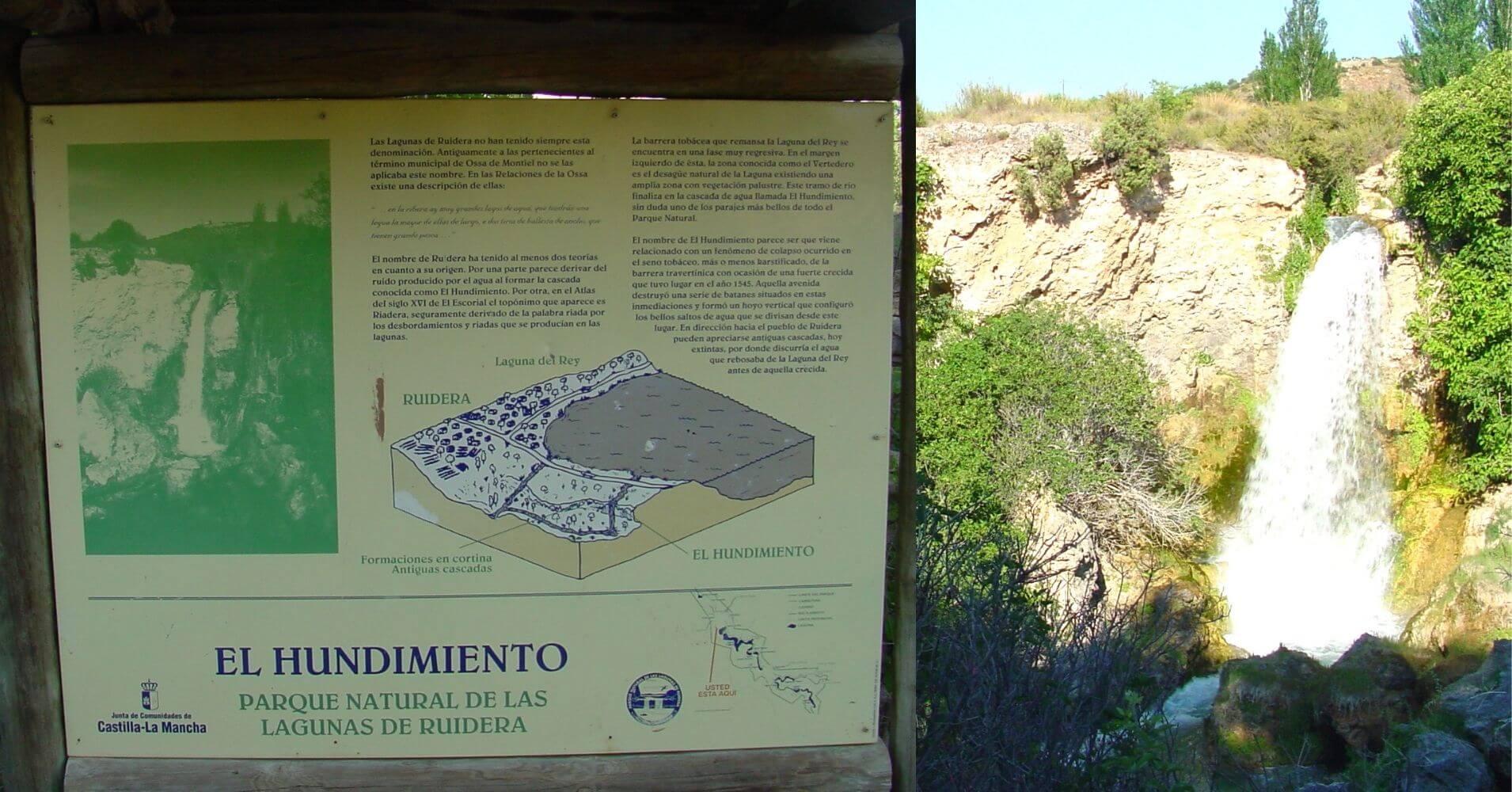 El Hundimiento. Parque Natural Lagunas de Ruidera. Ciudad Real, Albacete. Castilla la Mancha.