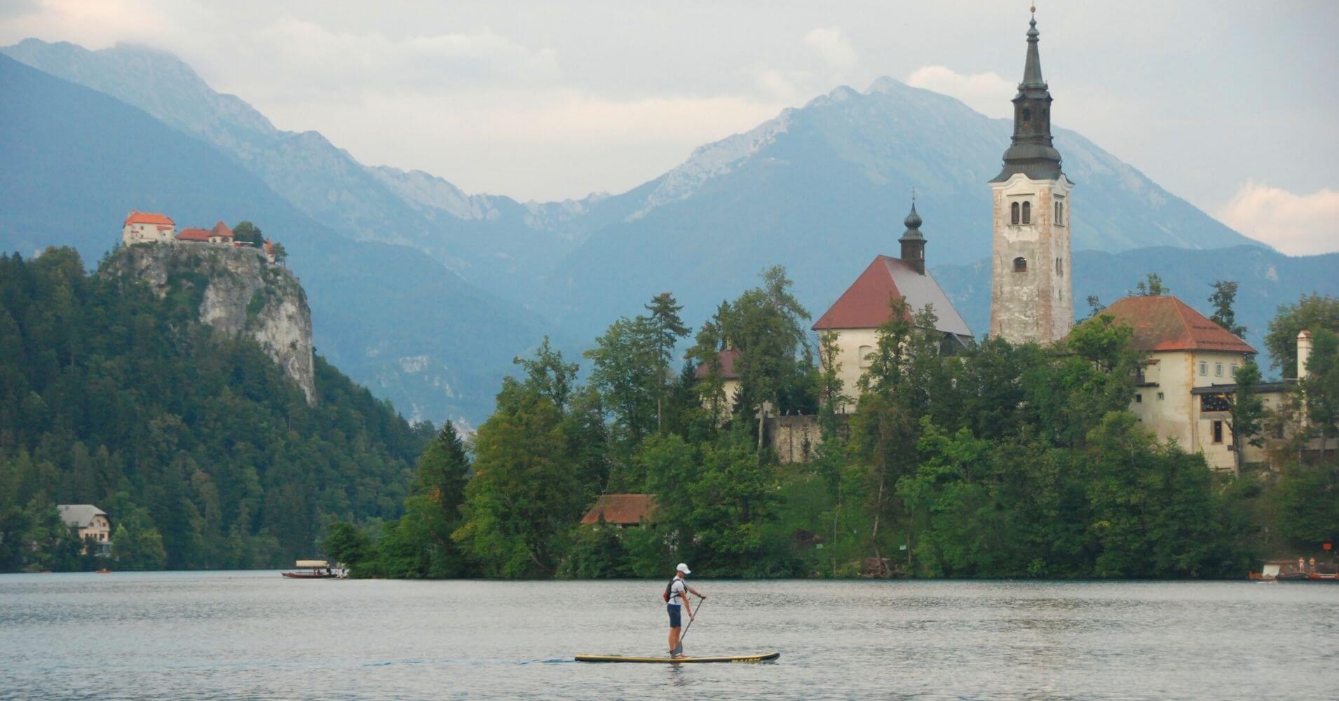 El Lago de Bled. Viajar a Eslovenia.