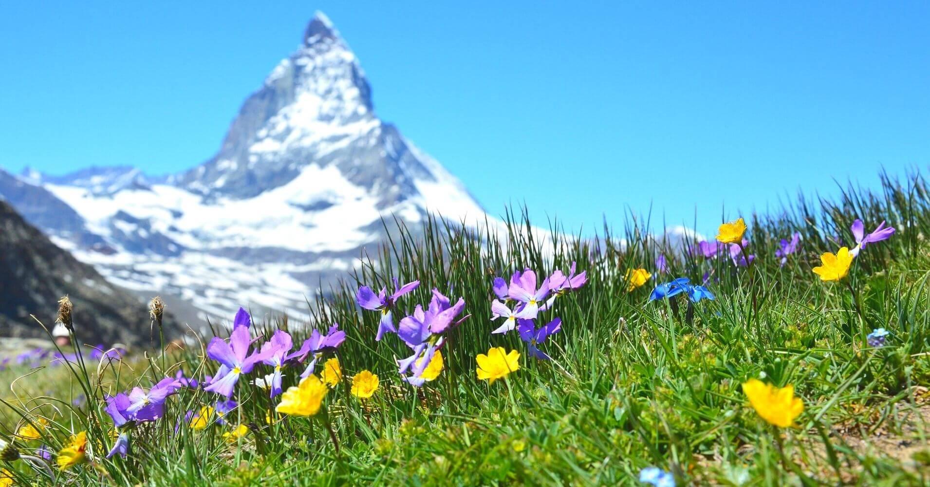 El Monte Cervino, Zermatt. Suiza.