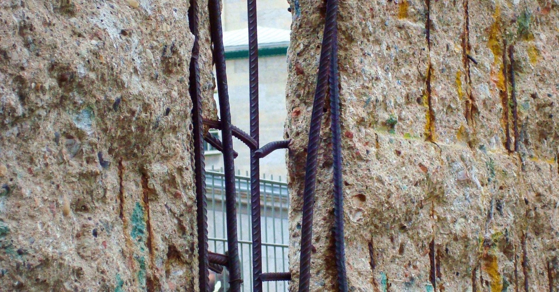 El Muro de Berlín. Alemania.