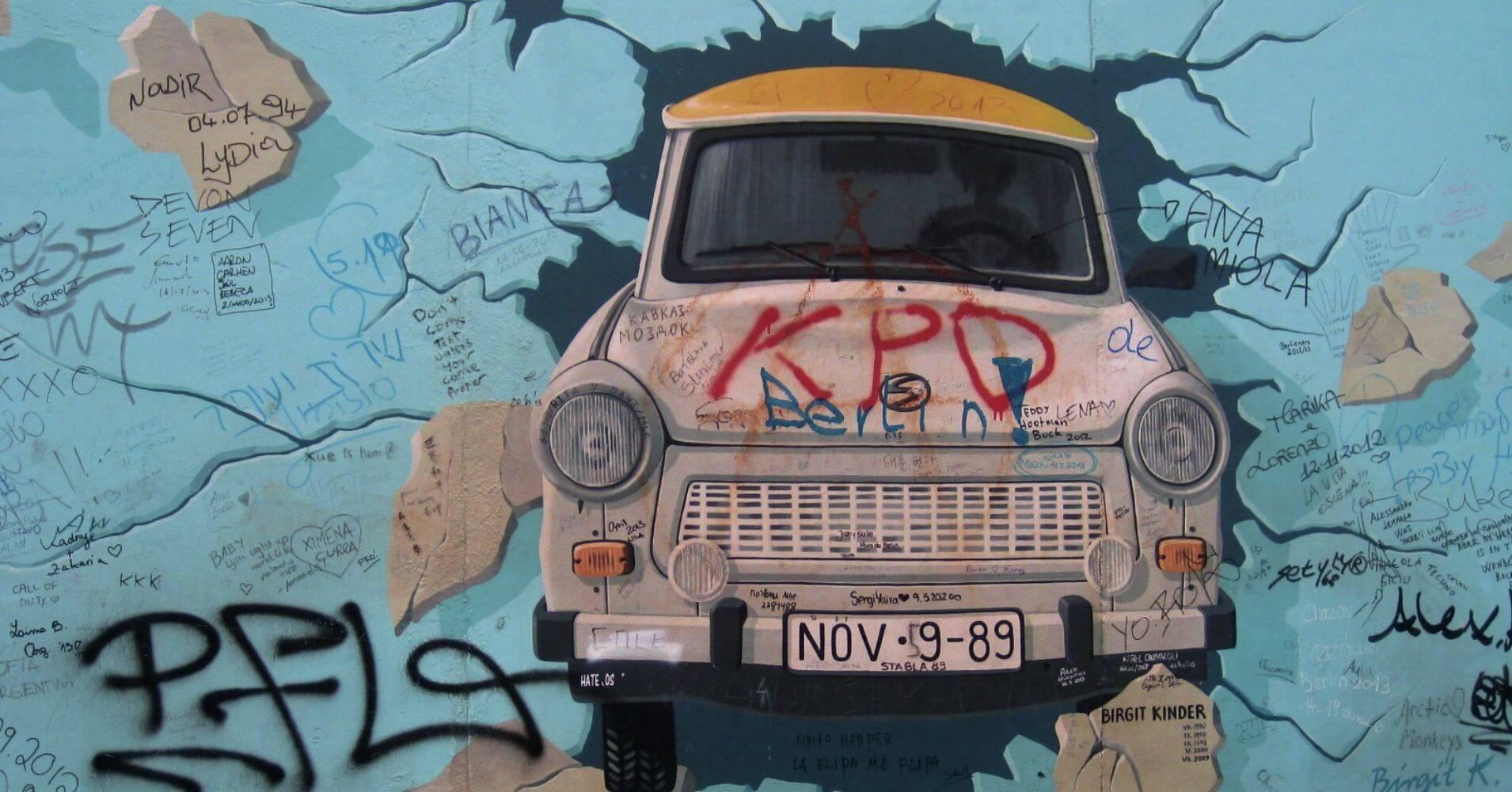 El Muro de Berlín. East Side Gallery. Alemania.