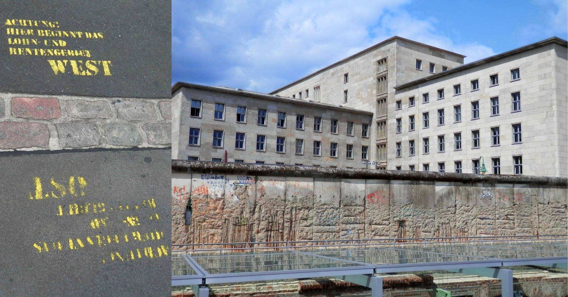 El Muro de Berlín y la Central de la Stasi, Berlín Cicatrices del Telón de Acero. Alemania.