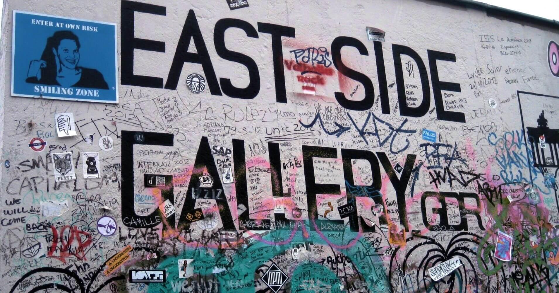 El Muro. East Side Gallery. Berlín. Alemania.