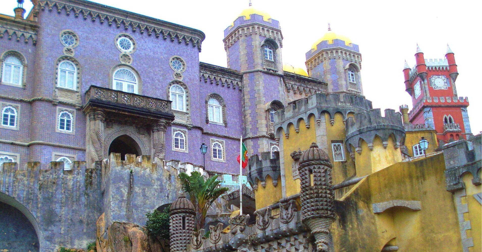 El Palacio da Pena. Sintra, Portugal.
