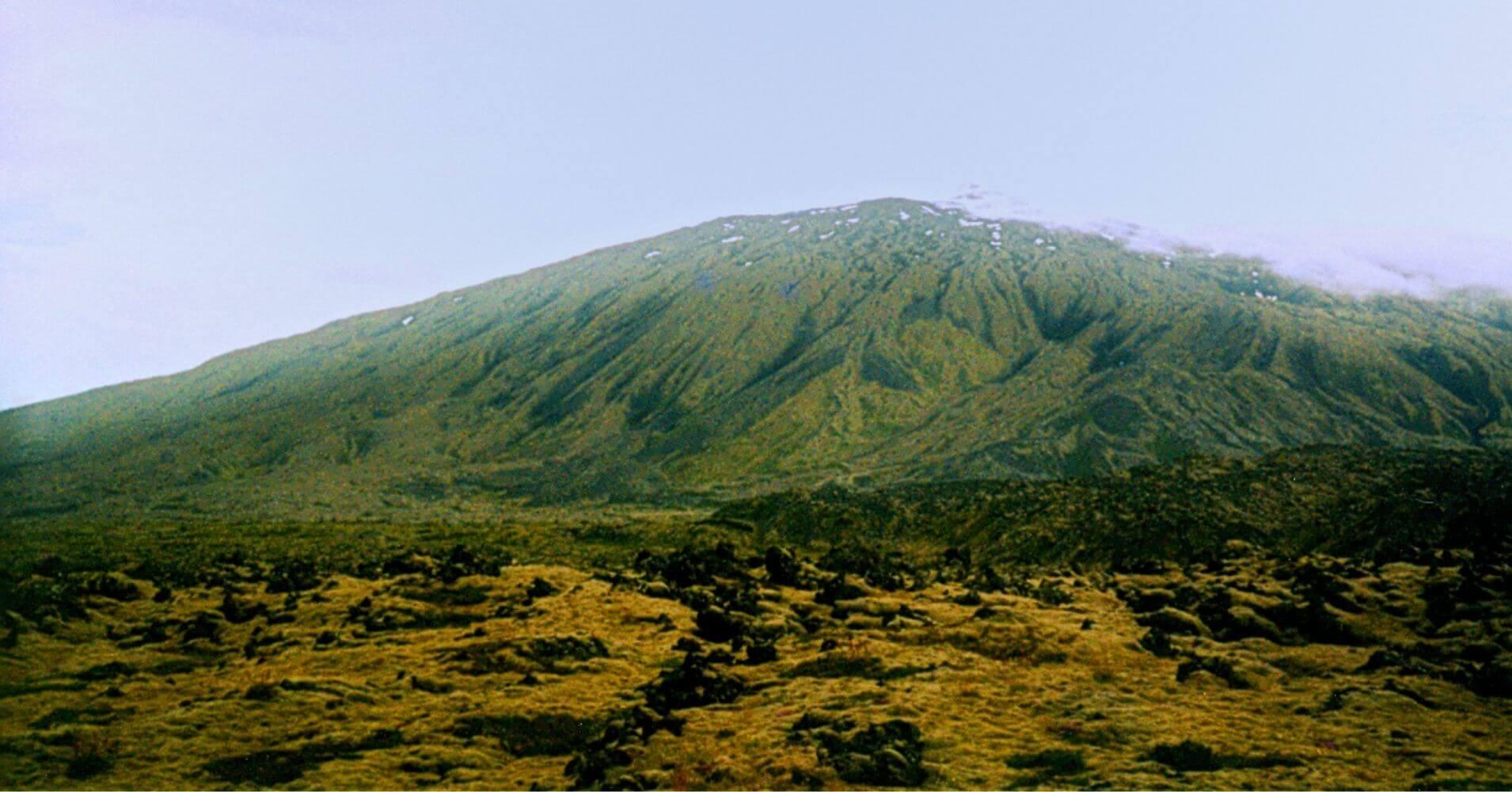 El Parque Nacional Volcán Snaefells Snæfellsjökull. Vesturland, Islandia.