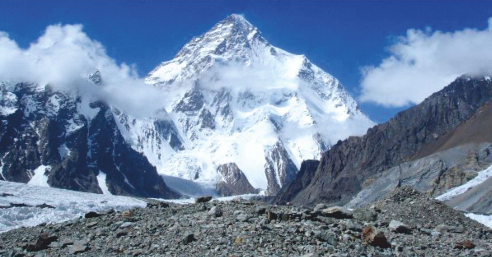 El Pico K2, Pakistán.