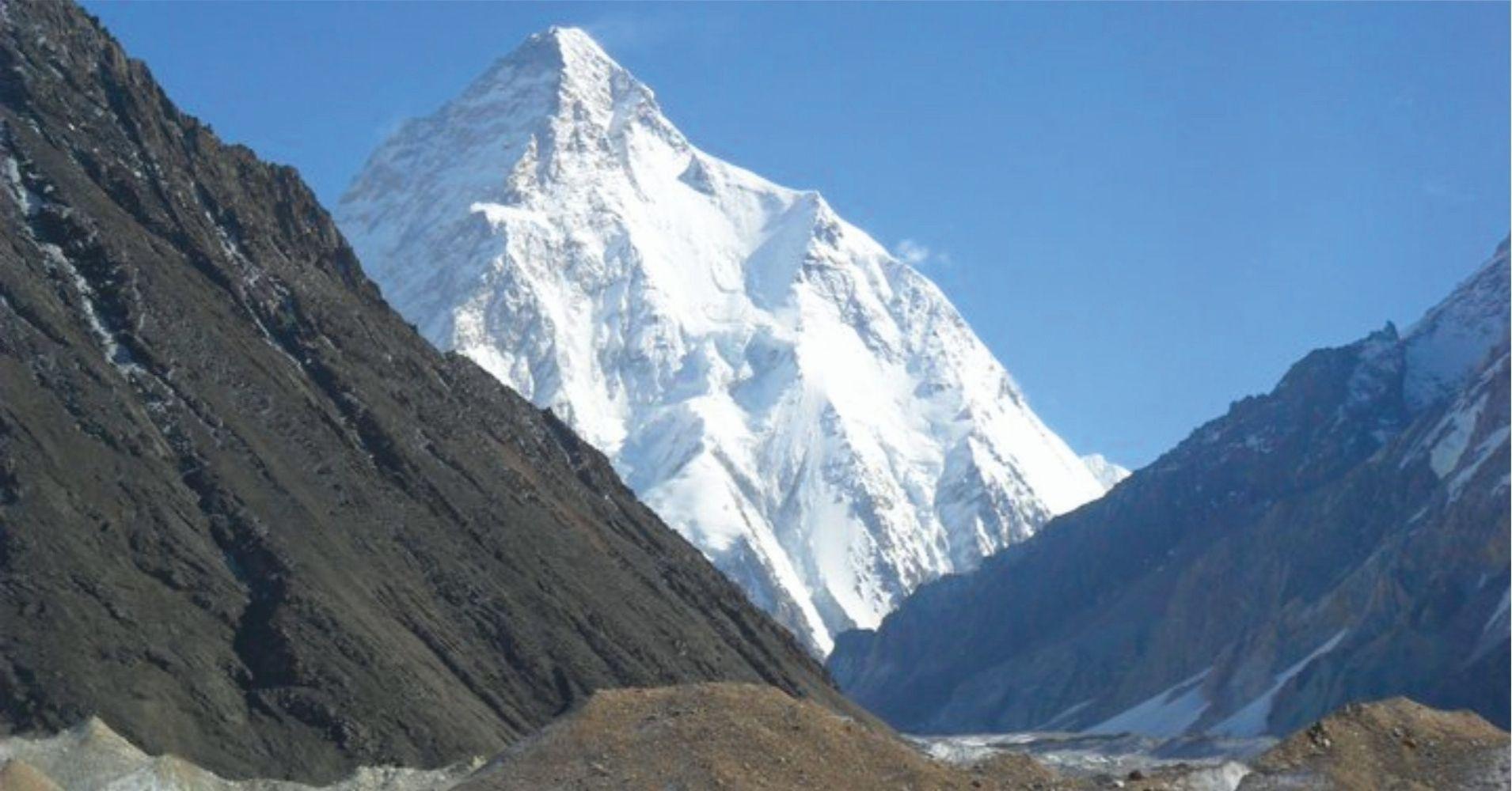 El Pico K2 Rey del Karakorum, Pakistán.