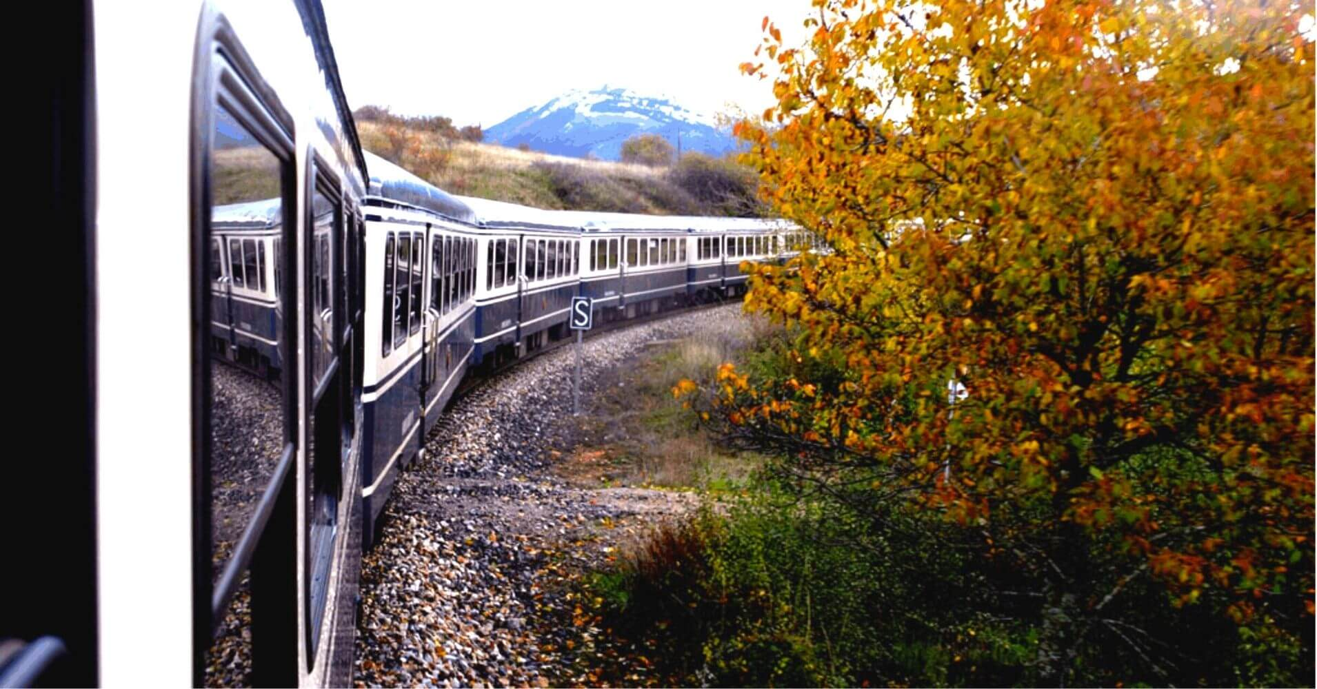 El Transcantábrico. Tren de Lujo que recorre el Norte de España.