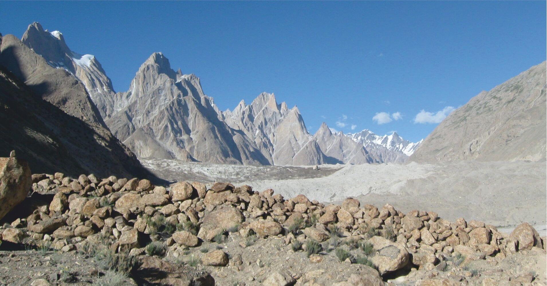 El Trekking Campo Base del K2, Pakistán.