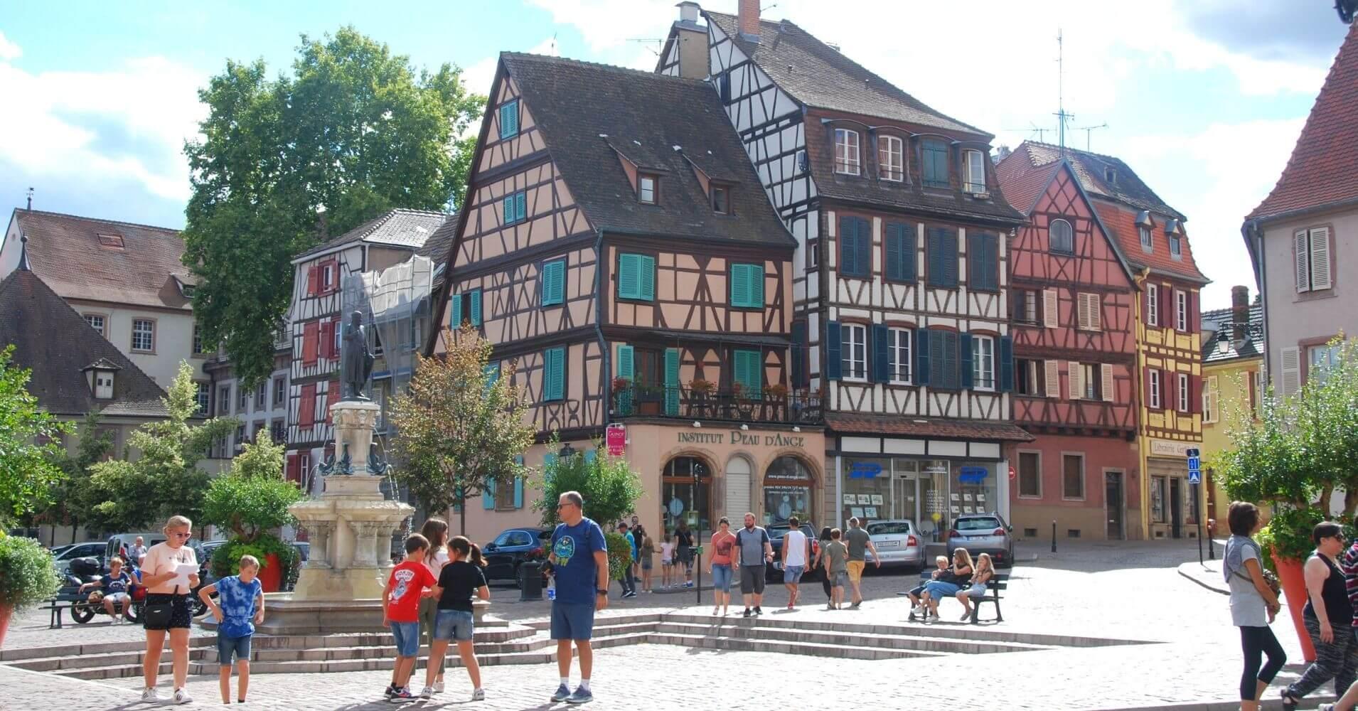 En Colmar. Alto Rin. Alsacia, Gran Este. Francia.