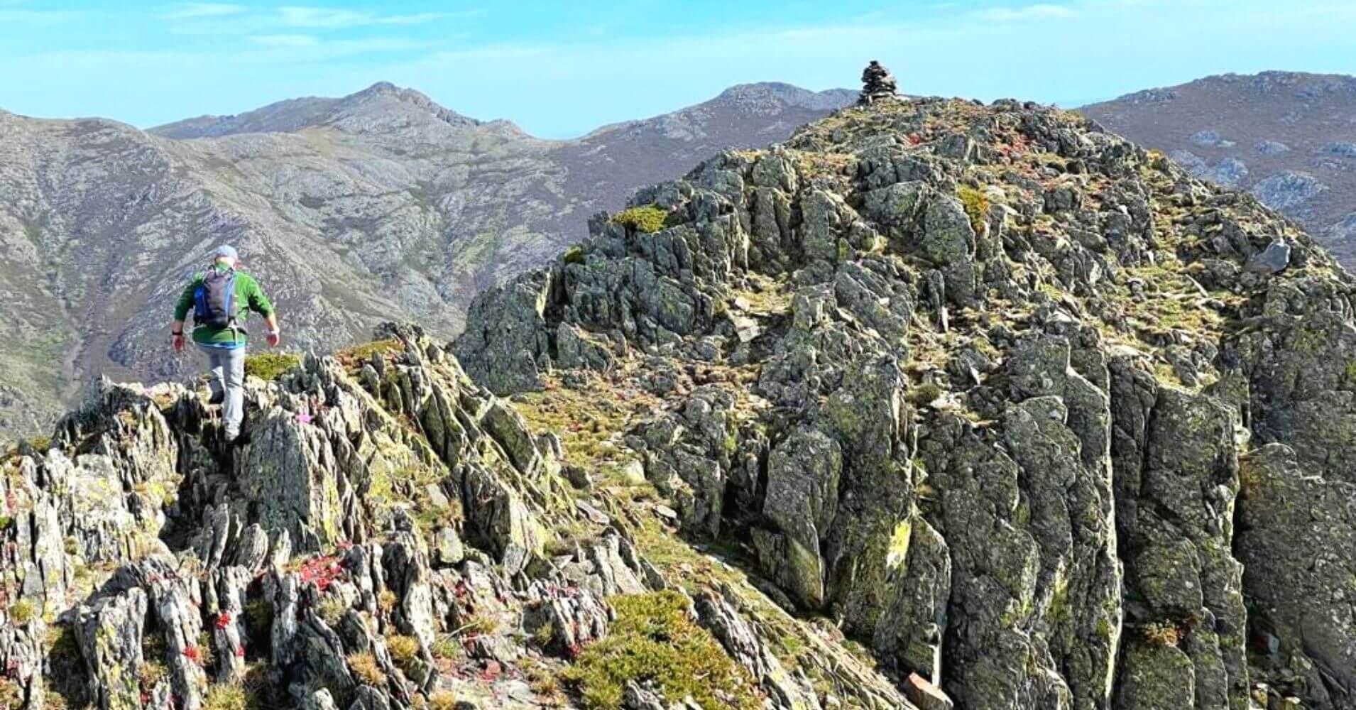 En Cresta del Dragón, Sierra de Ayllón. Guadalajara. Castilla La Mancha.