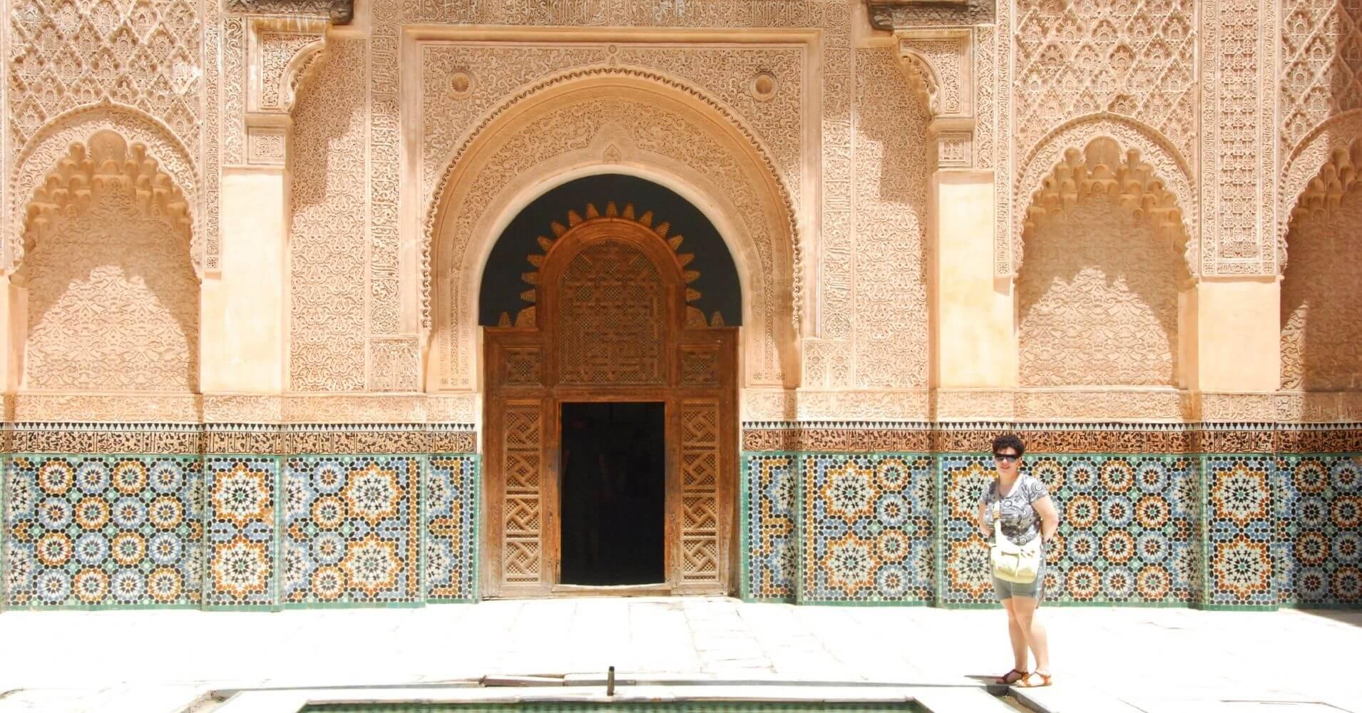 Escuela Coránica Madraza, Marrakech. Marruecos.