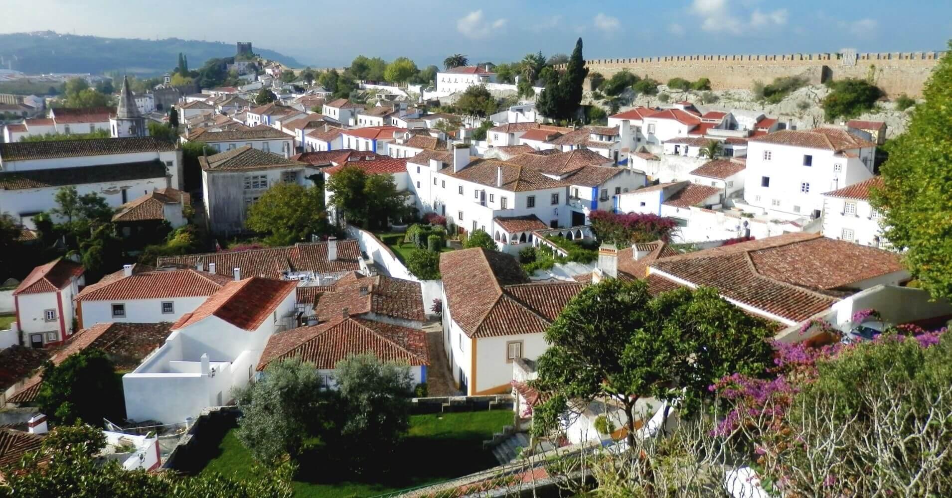 En Óbidos, Villa de las Reinas. Portugal.