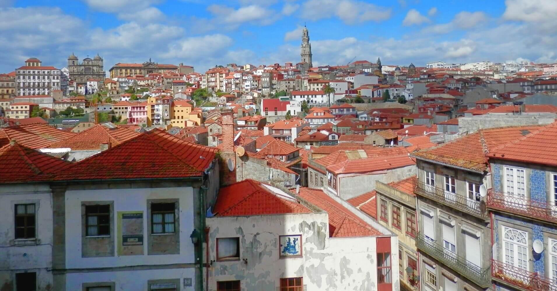 En Porto Escenario de Saudade. Oporto en Portugal.