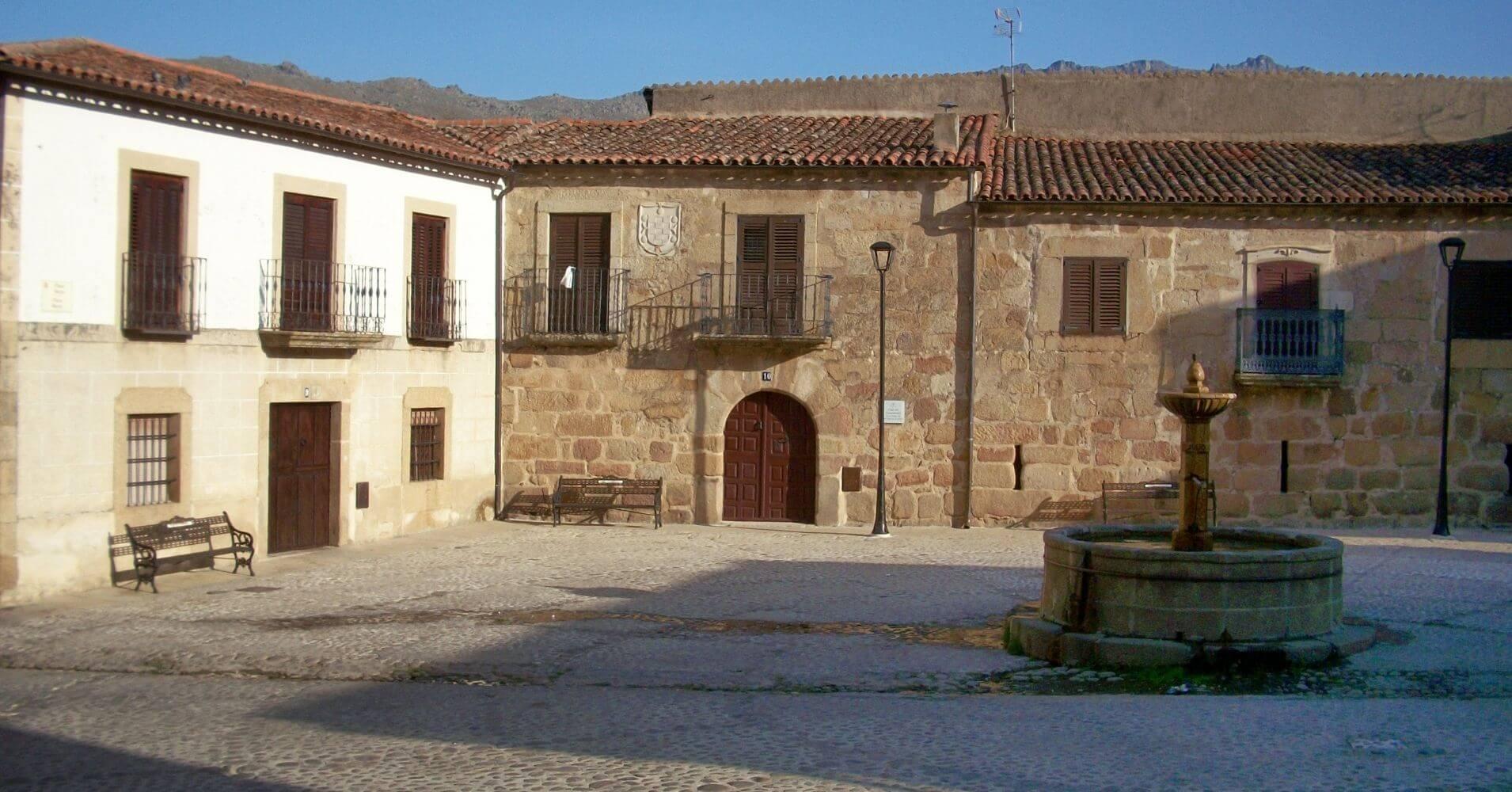 En San Martín de Trevejo, Sierra de Gata. Cáceres. Extremadura.