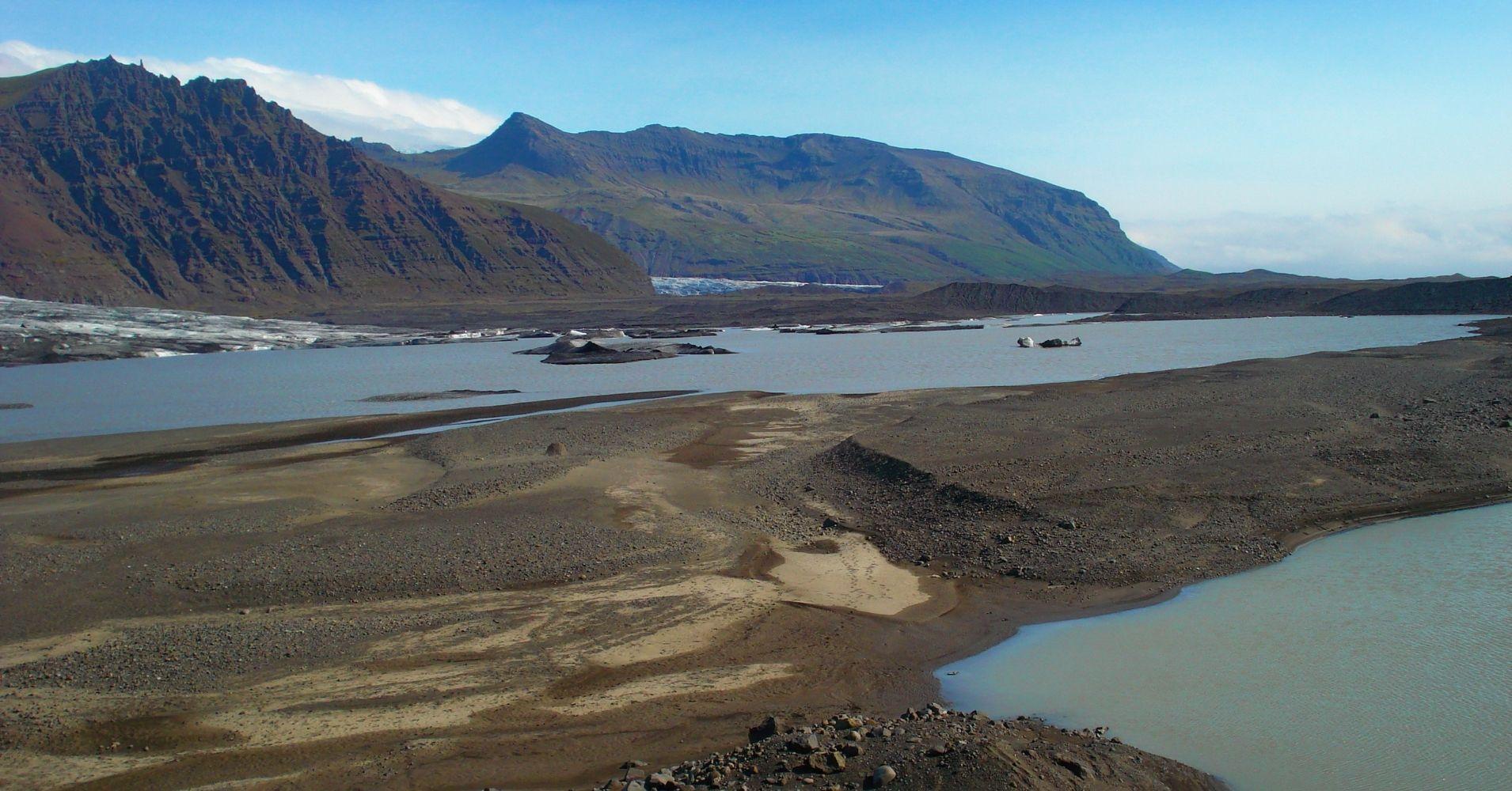 En Skaftafell Belleza Natural Road Trip por Islandia.