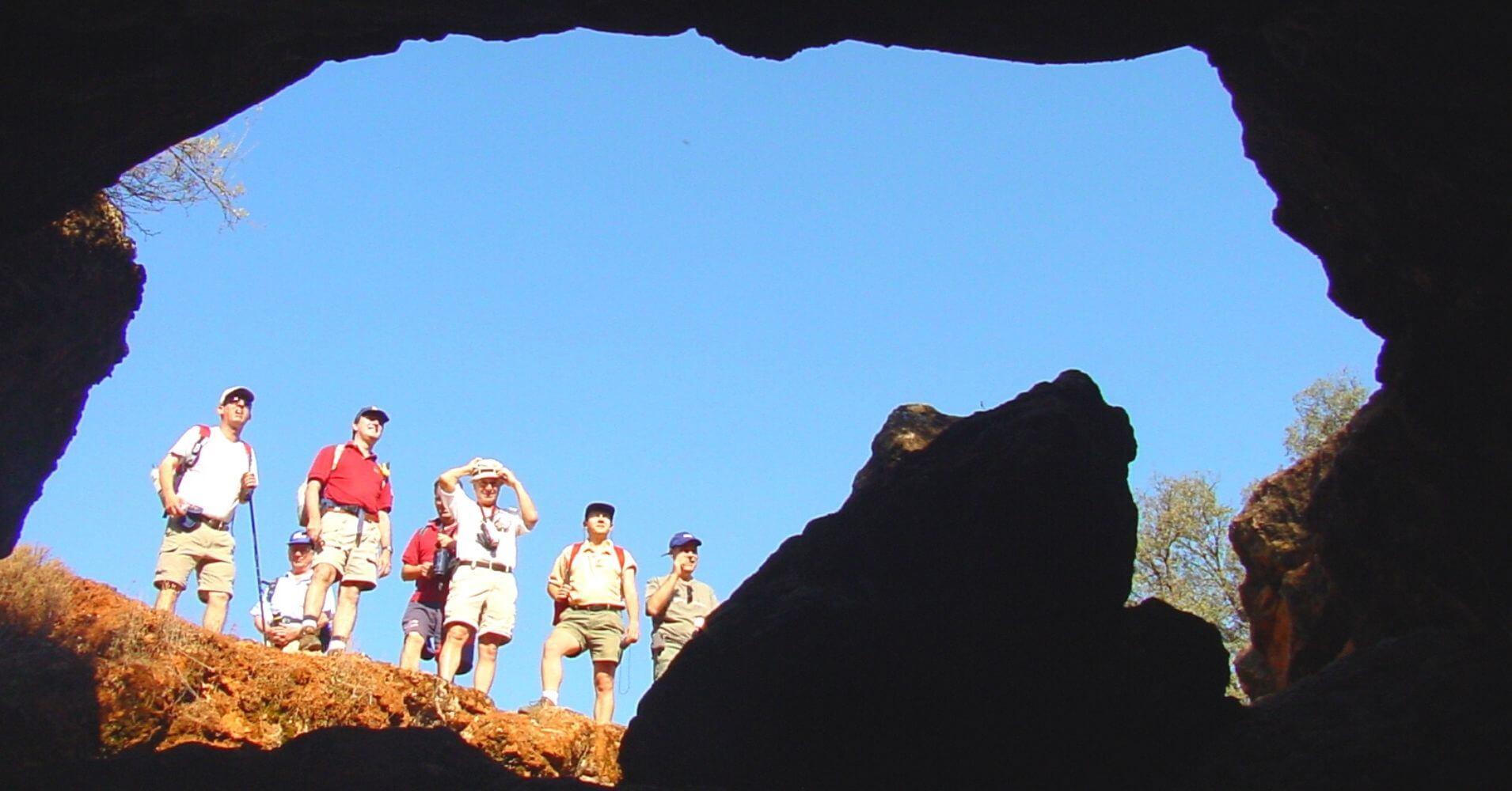 Entrada Cueva de Montesinos. Ossa de Montiel. Albacete, Castilla la Mancha.