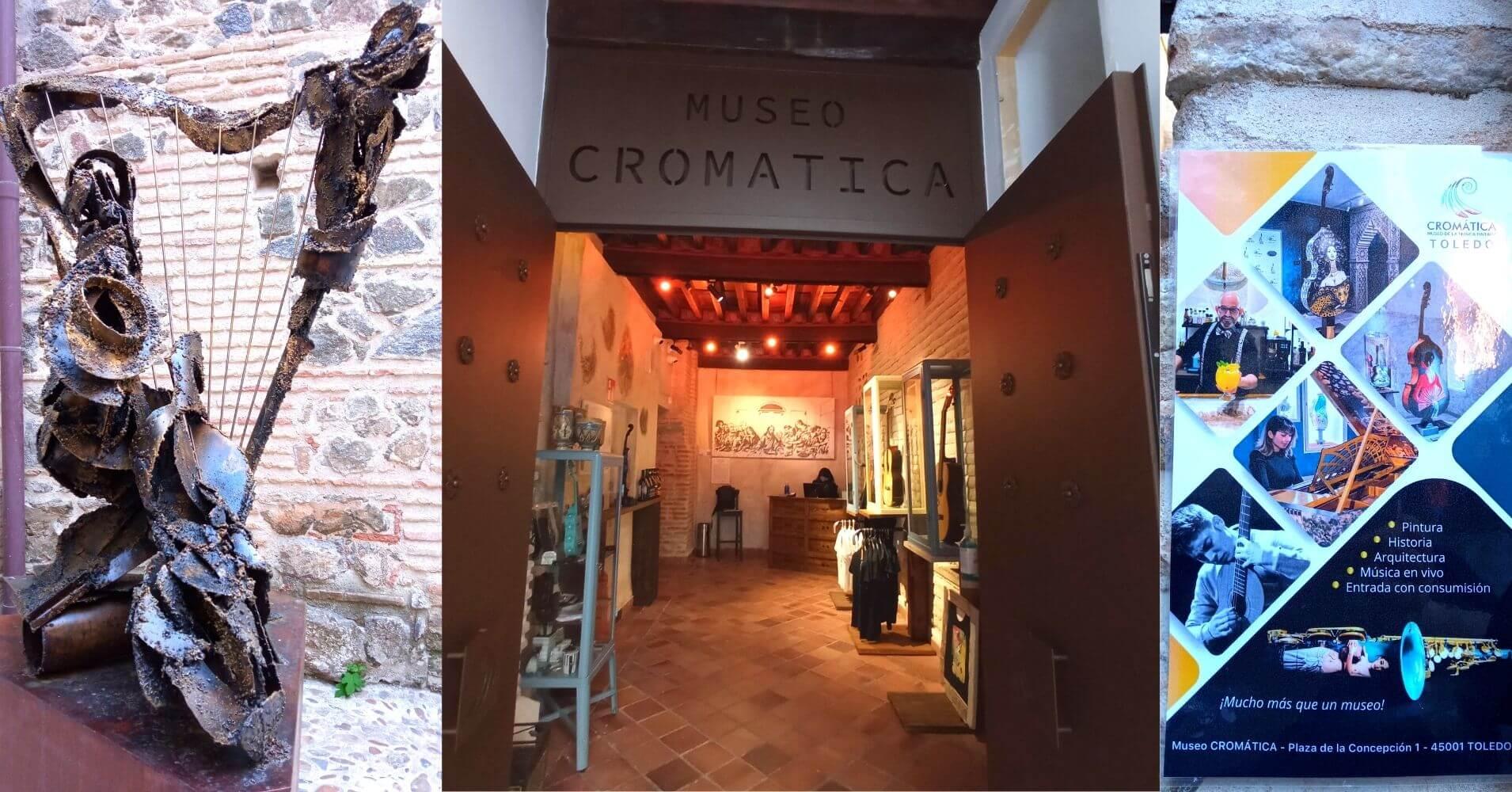 Entrada Museo Cromática Toledo. Convento de la Inmaculada Concepción. Toledo.