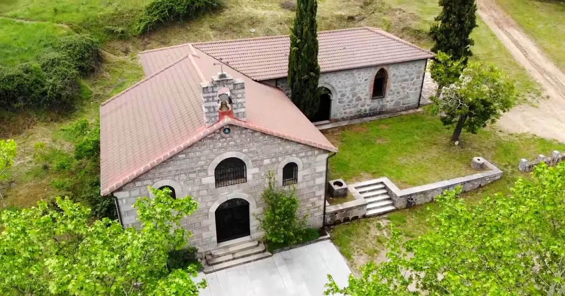 Ermita de la Fuente Santa. San Pablo de los Montes. Toledo.