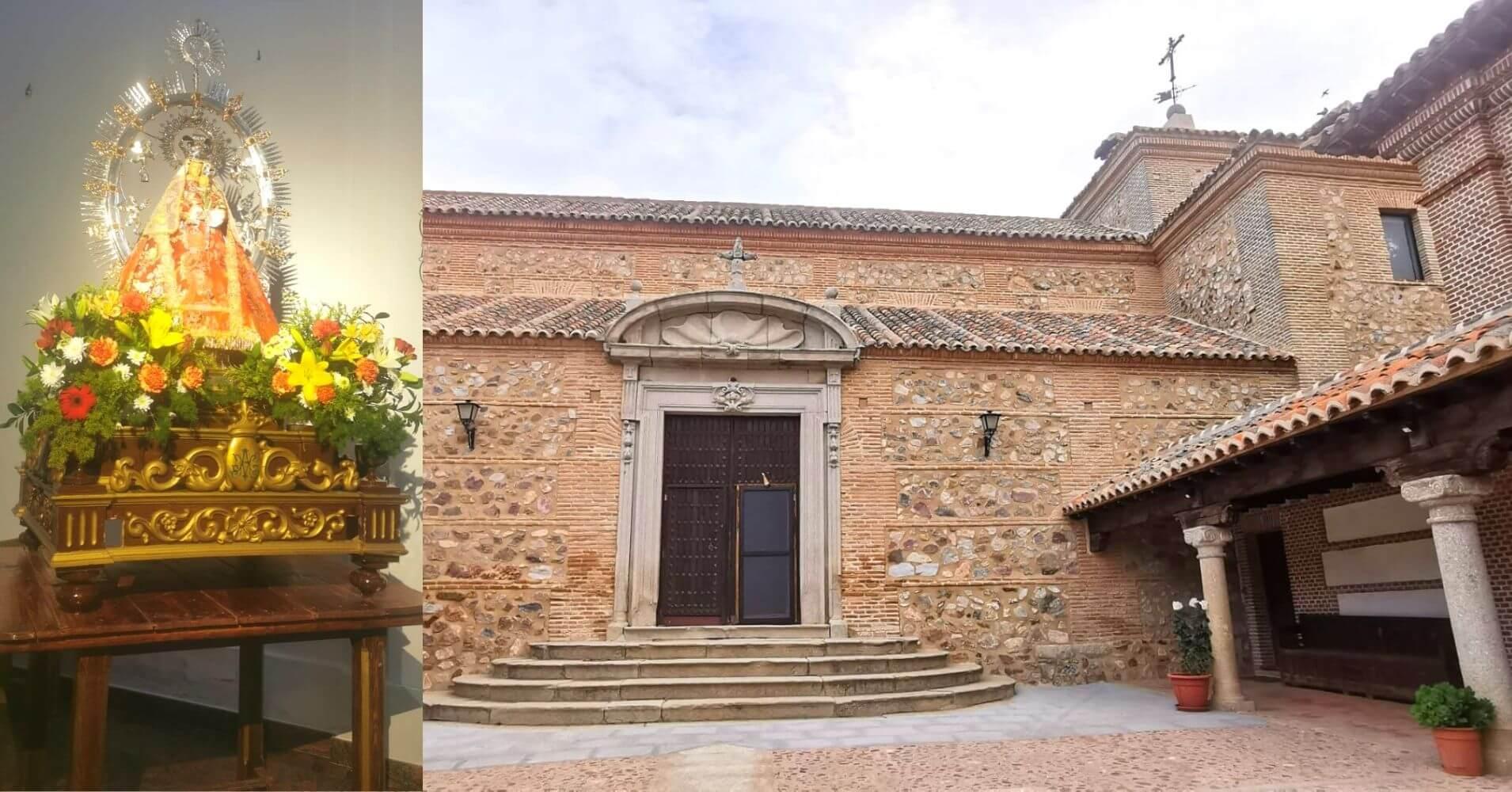 Ermita de la Virgen de la Oliva. Almonacid de Toledo. Castilla La Mancha.