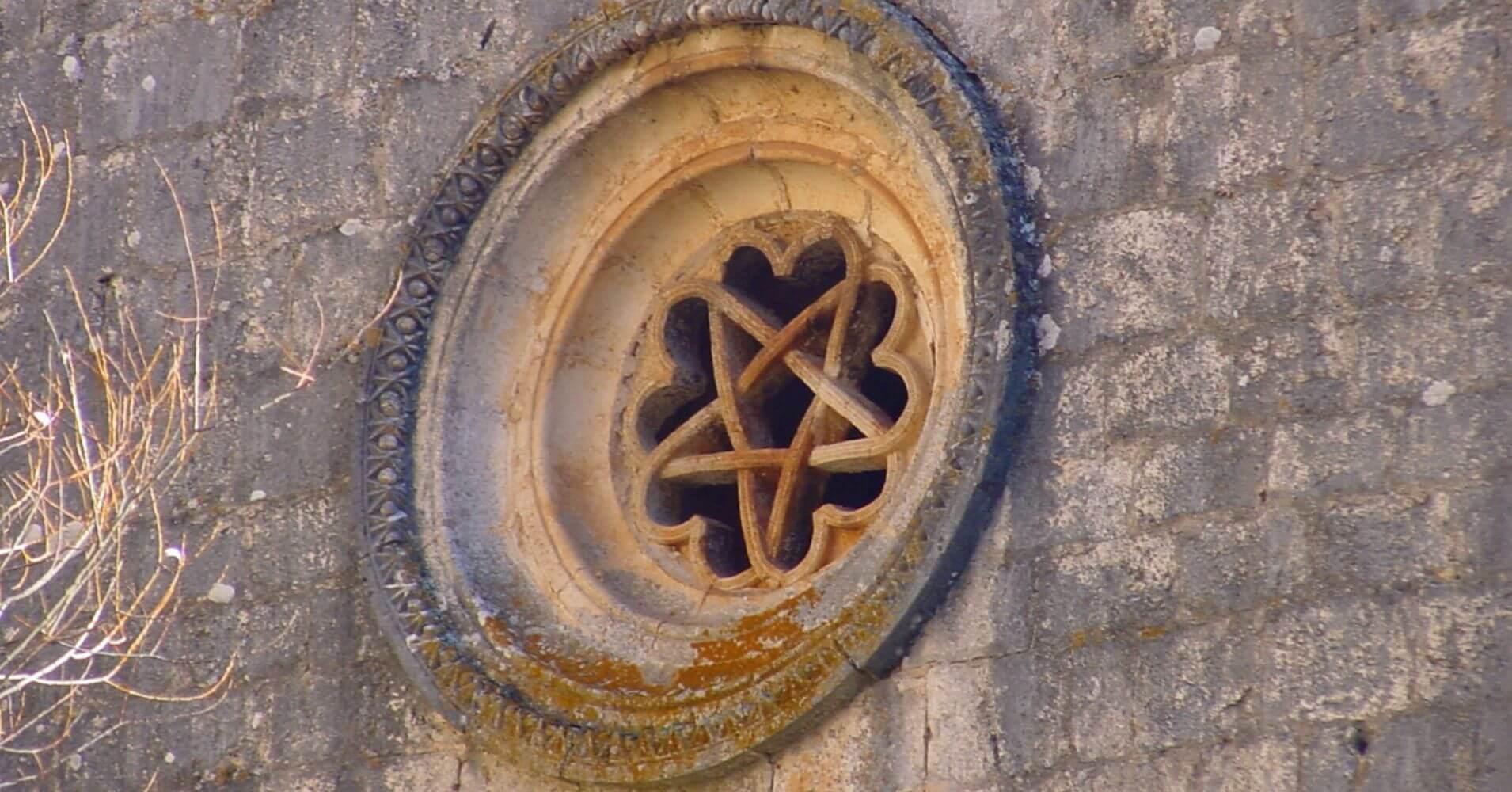 Ermita de San Bartolomé, Rosetón. Soria.