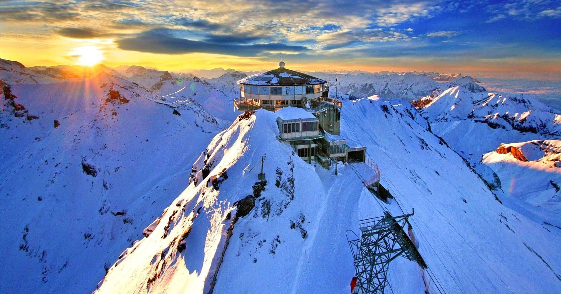 Estación Schirton. Suiza.