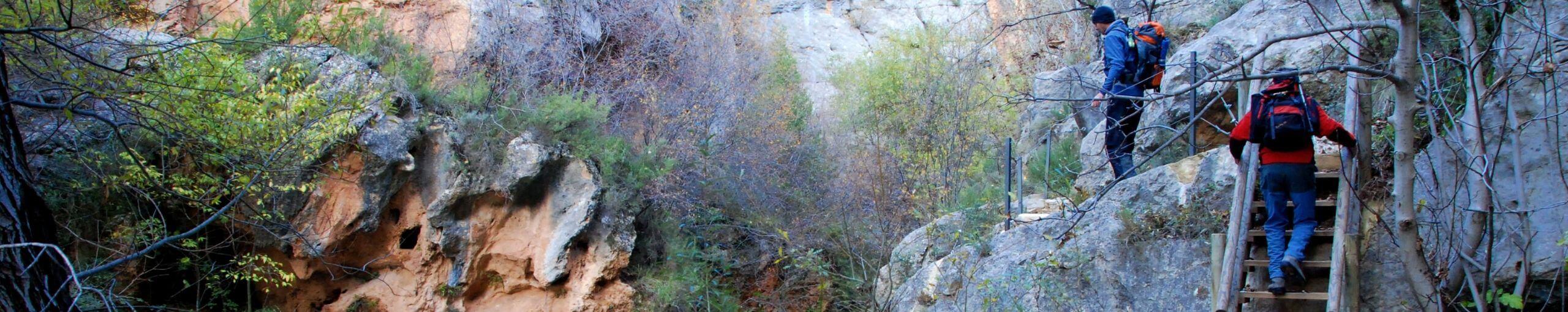Estrechos del Río Ebrón. El Cuervo, Tormón. Teruel, Aragón.