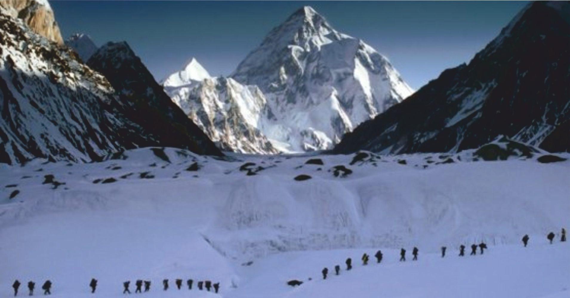 Expedición en el K2, Pakistán.