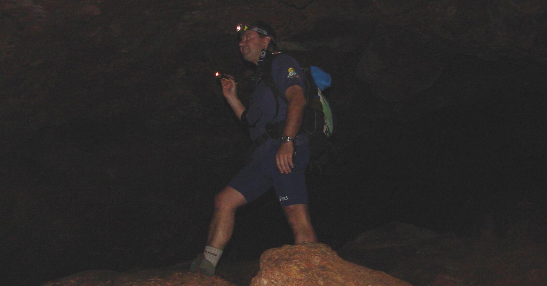 Exploración Cueva de montesinos. Ossa de Montiel. Albacete, Castilla la Mancha.