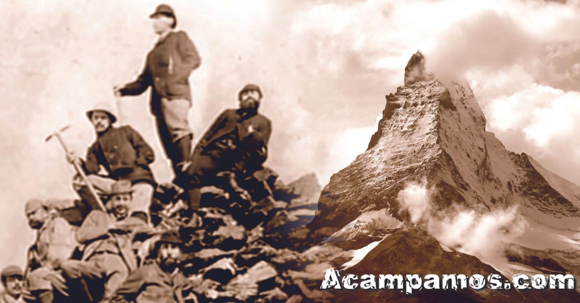 Exploraciones en la Conquista del Cervino, Zermatt. Suiza.